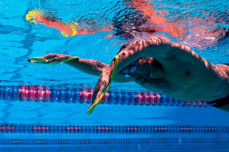 Swimming Tips: Catch More Water, Earlier
