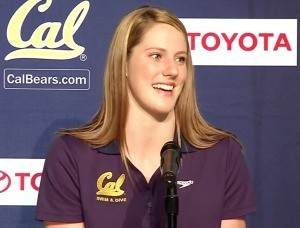 Missy Franklin Wins 1000 Free, 100 Fly as Cal Opens Pac 12 Schedule
