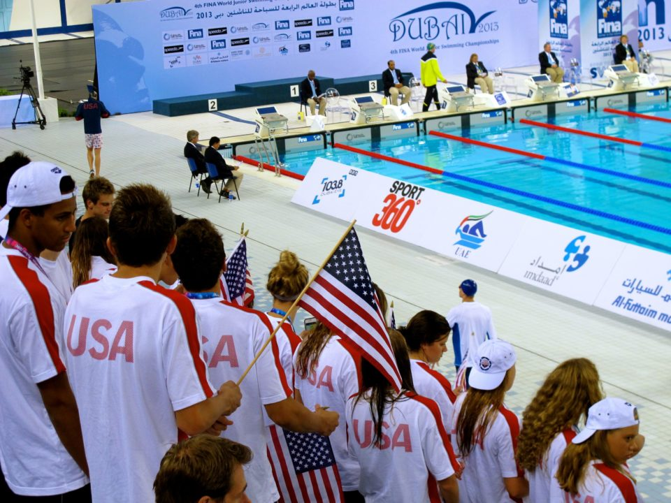 Junior World Swimmers Are Set Up For Records In Final Night In Dubai