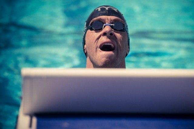 Nick Thoman throws one back.  (photo: Mike Lewis, Ola Vista Photography)