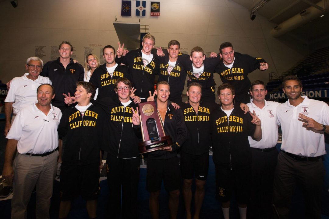 2013-2014 College Swimming Previews: Can #4 USC Fill the Void Vlad Morozov Leaves Behind?