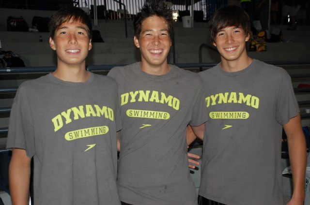 The Litherland Triplets , 2013 Junior Nationals (Photo Credit: Anne Lepesant)