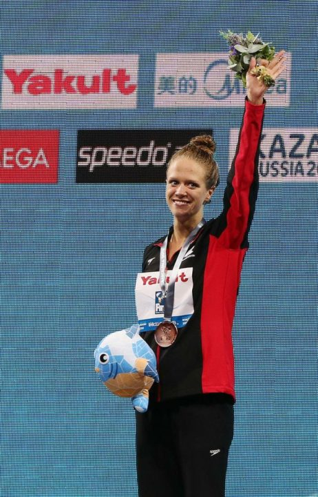 Patience pays off for Swimming Canada Star Hilary Caldwell