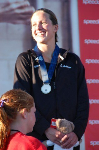 Olivia Anderson, 100 breast, 2013 Junior Nationals (Photo Credit: Anne Lepesant)