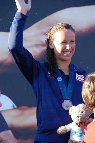 Maija Roses, 100 breast, 2013 Junior Nationals (Photo Credit: Anne Lepesant)