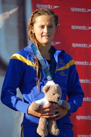 McLaughlin, 200 free, 2013 Junior Nationals (Photo Credit: Anne Lepesant)