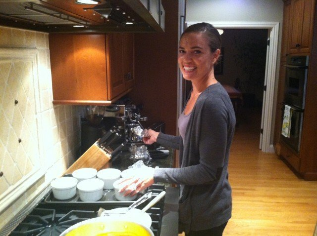 Natalie Coughlin Cooking
