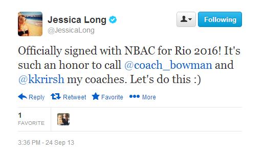 Jessica Long Tweet NBAC