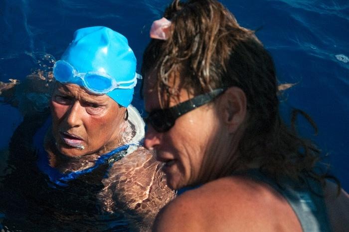 Diana Nyad Addresses Marathon Open Water Swim Community