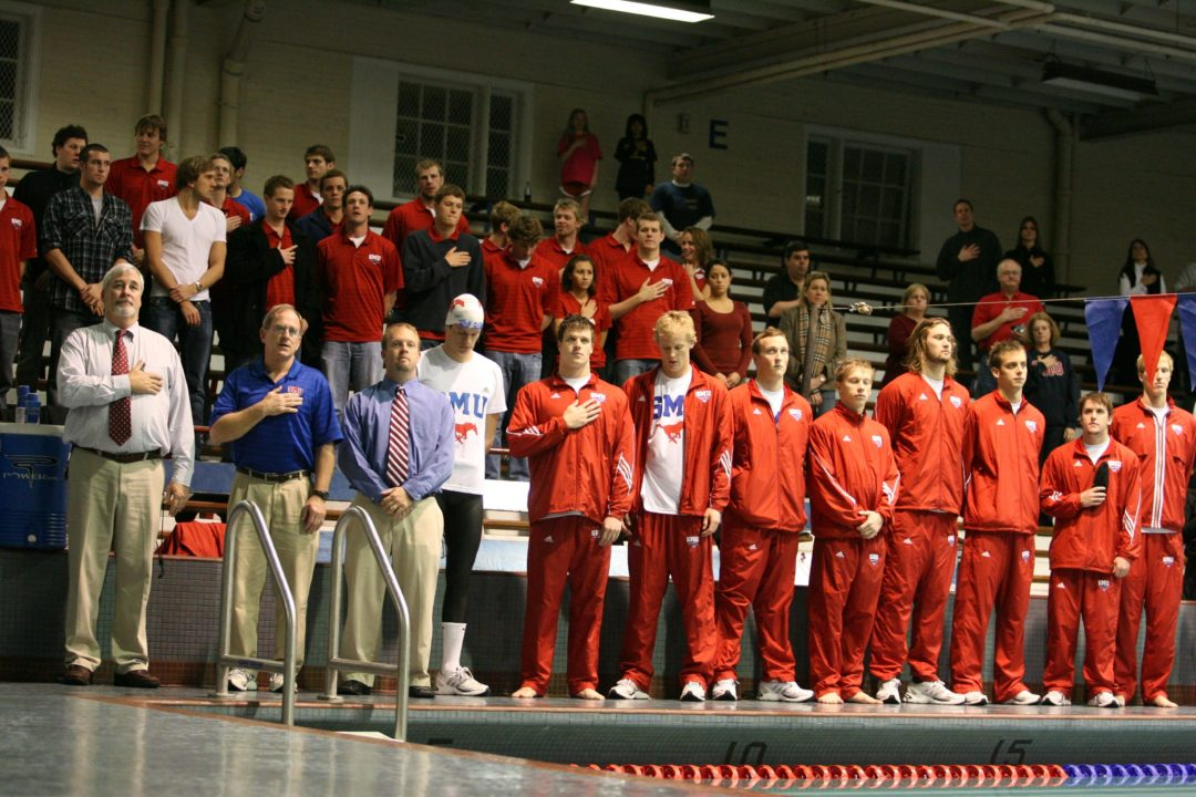 SMU Takes On In-State Foes In A Pair Of Dual Meets