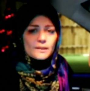 Elham Asghari, Iranian Open Water Swimmer (Image courtesy of youtube capture)