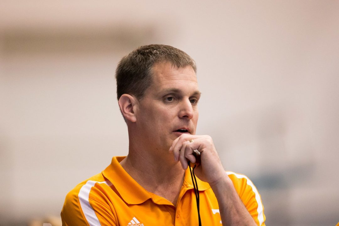 AQUA BOOM® Back and Free Work With VOLS Coach Matt Kredich