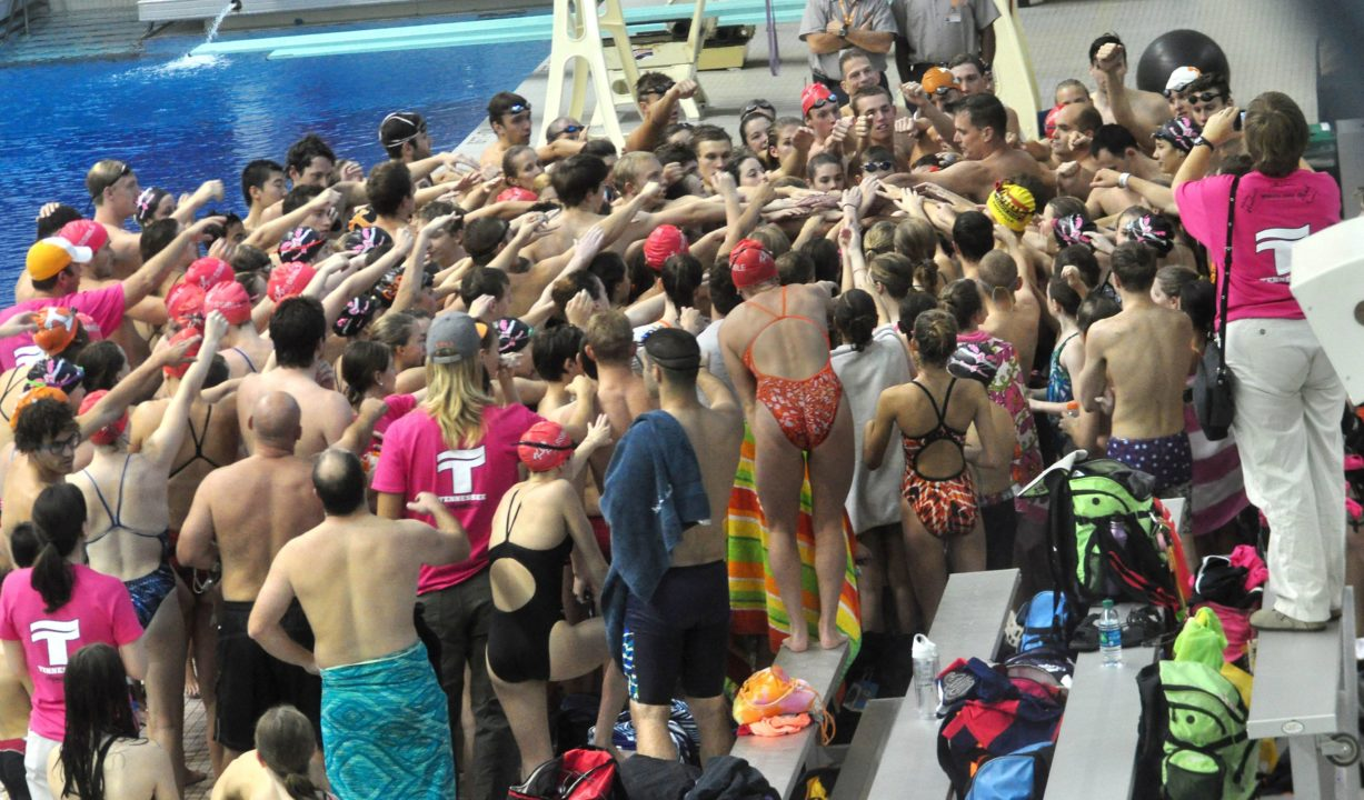 Tennessee Aquatics Breast for Breasts Clinic for Cancer Support in Honor Kim Kredich