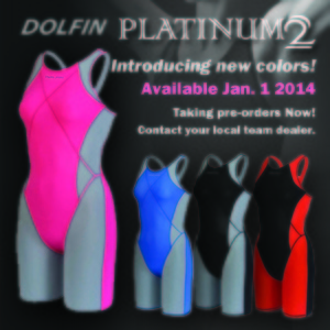 Dolfin swimwear ad, Color Block Ad