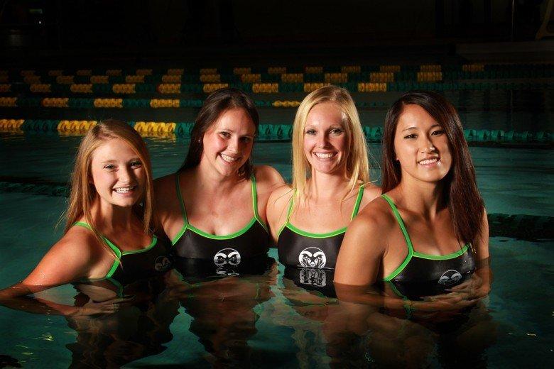 CSU swimming opens season at Colorado Mesa Intermountain Shootout