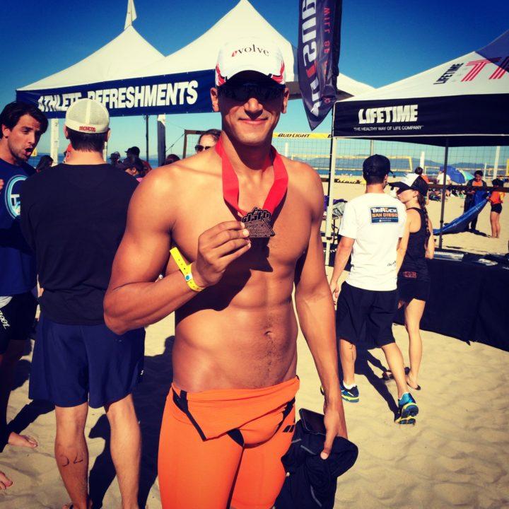 Mellouli Tries Hand at First Triathlon