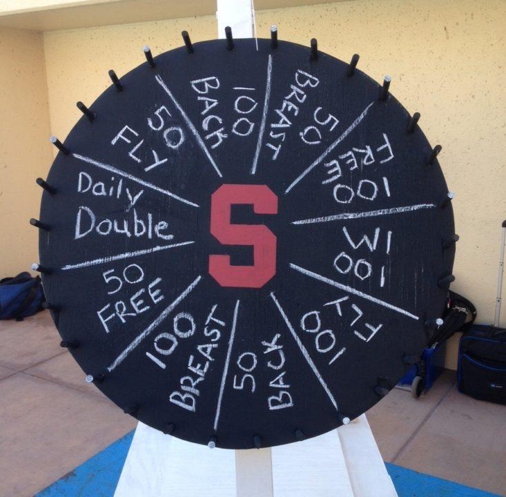 Stanford, UC Santa Cruz Men Open Season With Wheel of Fortune