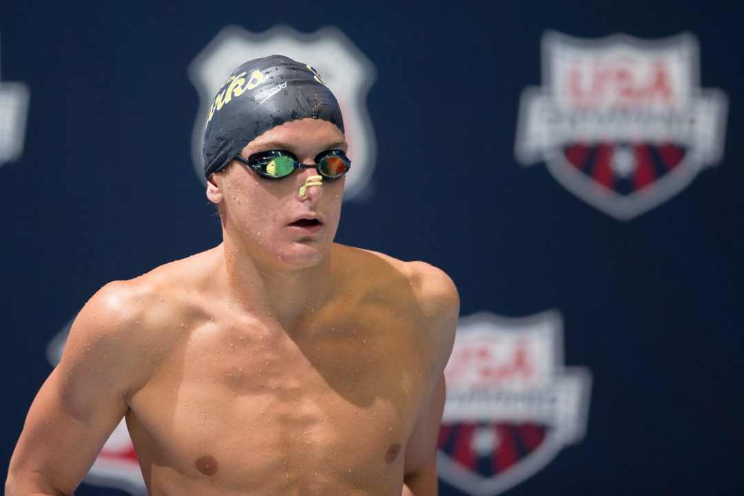 Olympic Trials semifinalist Alex Katz transferring from Michigan to Florida