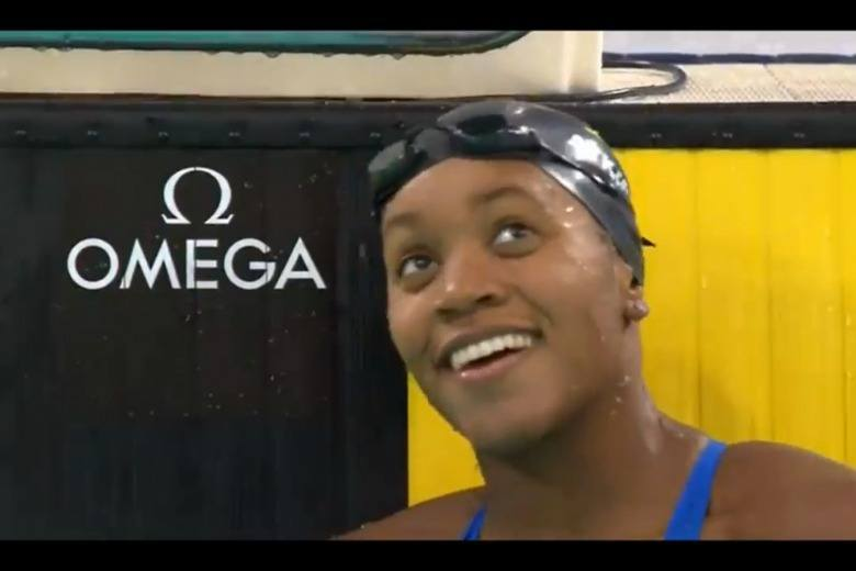Atkinson Wins 100m Breast at Dubai World Cup (Race Video)