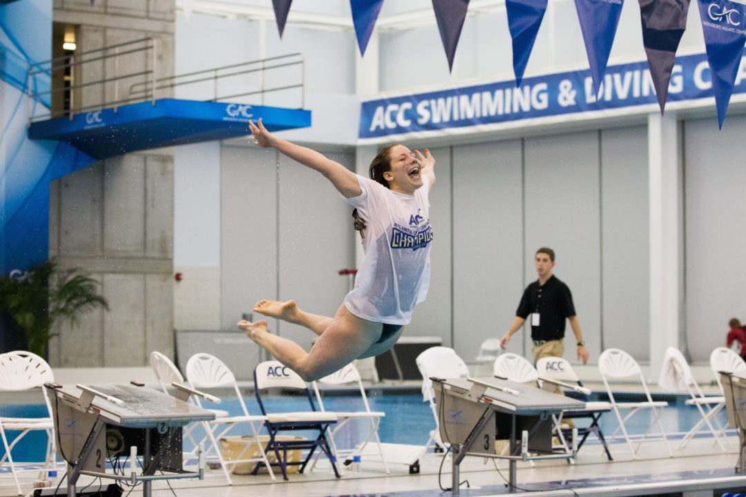Virginia All-American Sarah White Retires From Swimming After Sophomore Year