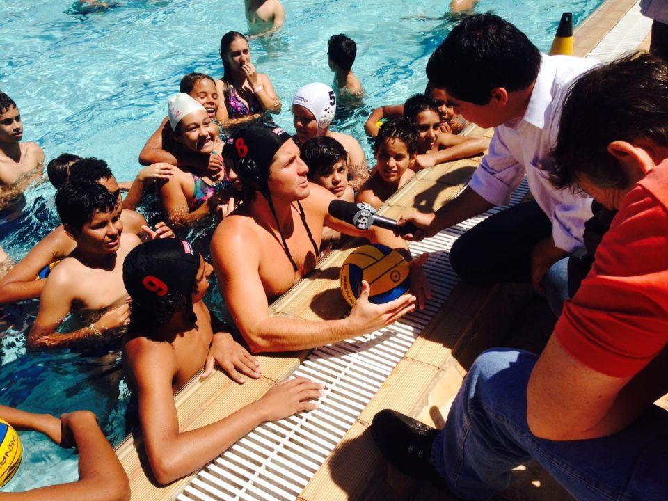 Tony Tuesdays: Azevedo Signs with Sao Paulo Brazil Water Polo Team