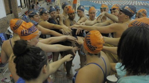 Illinois women takes it all in the Michigan State and Liberty tri-meet