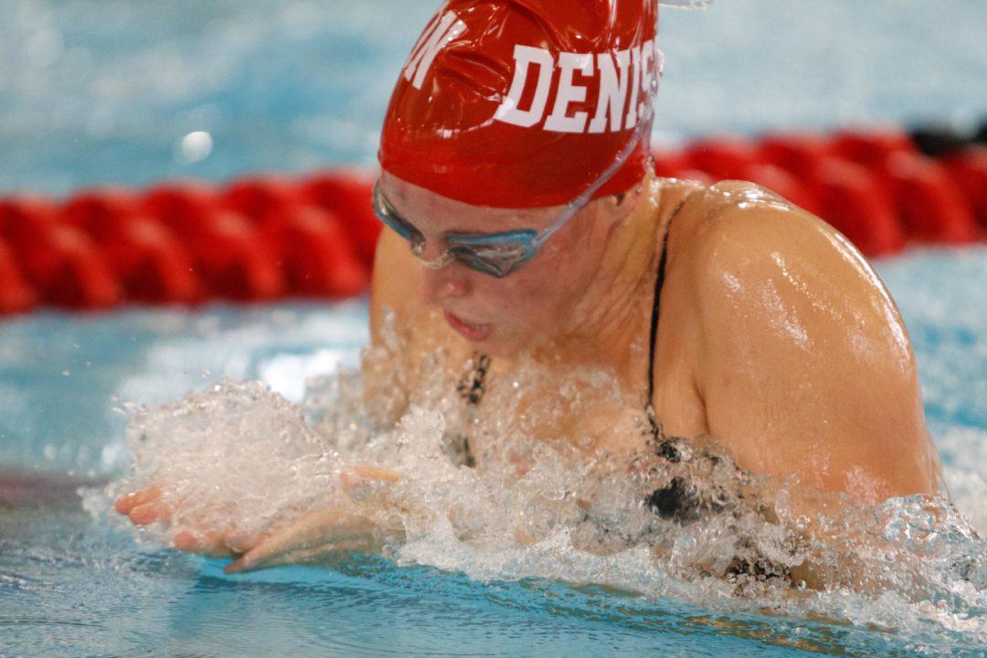 Denison routs Malone University; Lugg Sets Pool Record