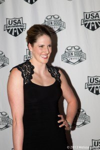 Missy Franklin at the 2013 Golden Goggles.