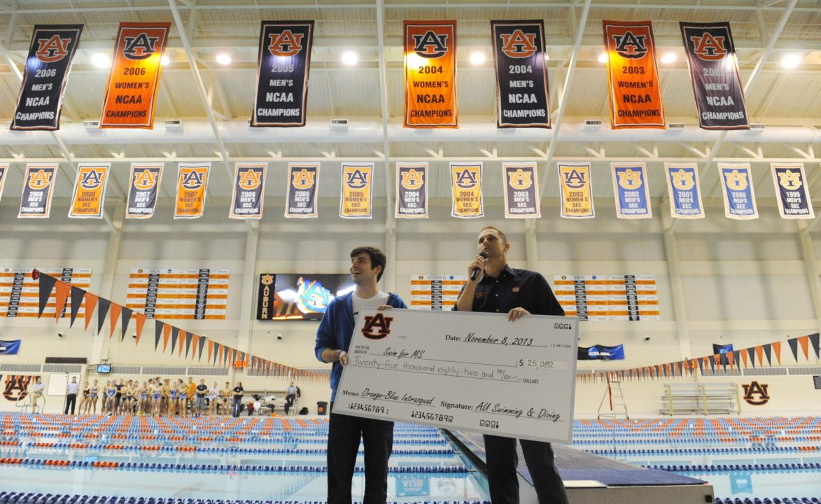 Auburn Raises Over $25,000 in Swim for MS Campaign