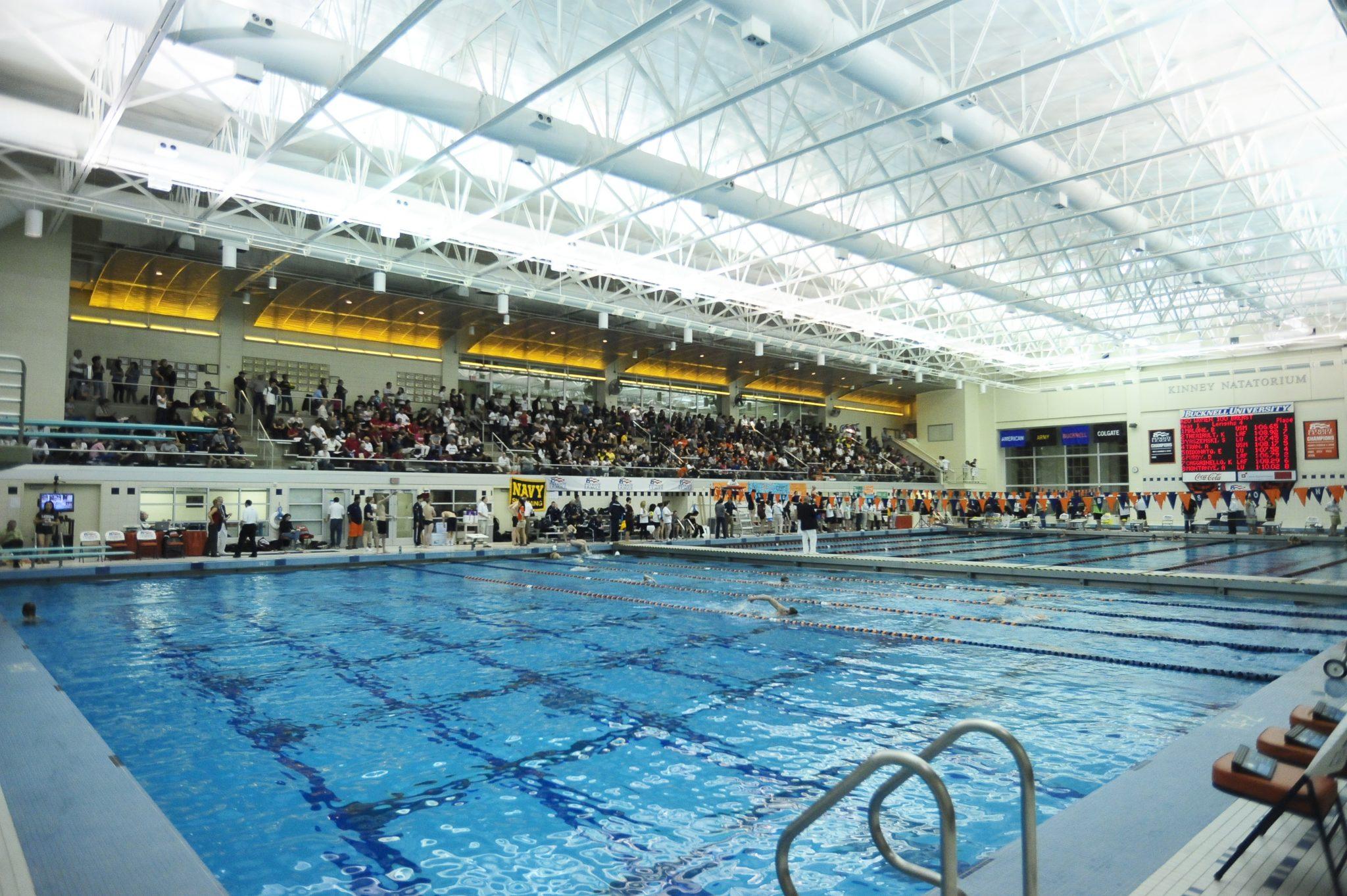 Bucknell invitational day one prelims recap - Bucknell university swimming pool ...