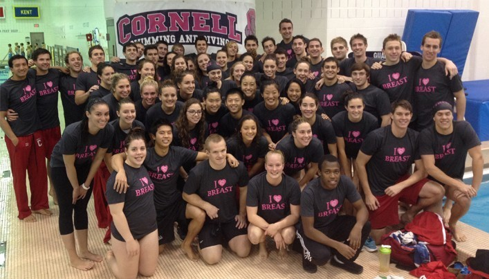 Cornell Women's Swimming and Diving Introduces Class of 2018