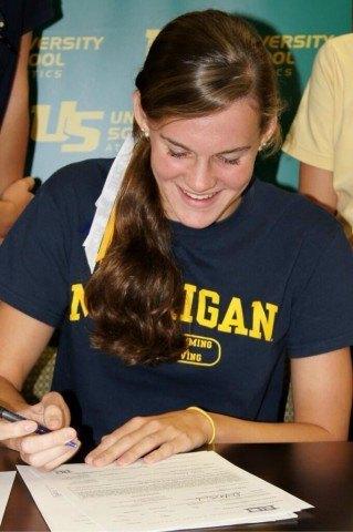 Emily Kopas Michigan Signing