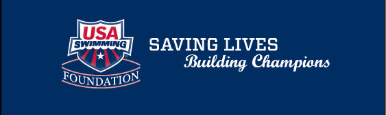 USA Swimming Foundation footer banner