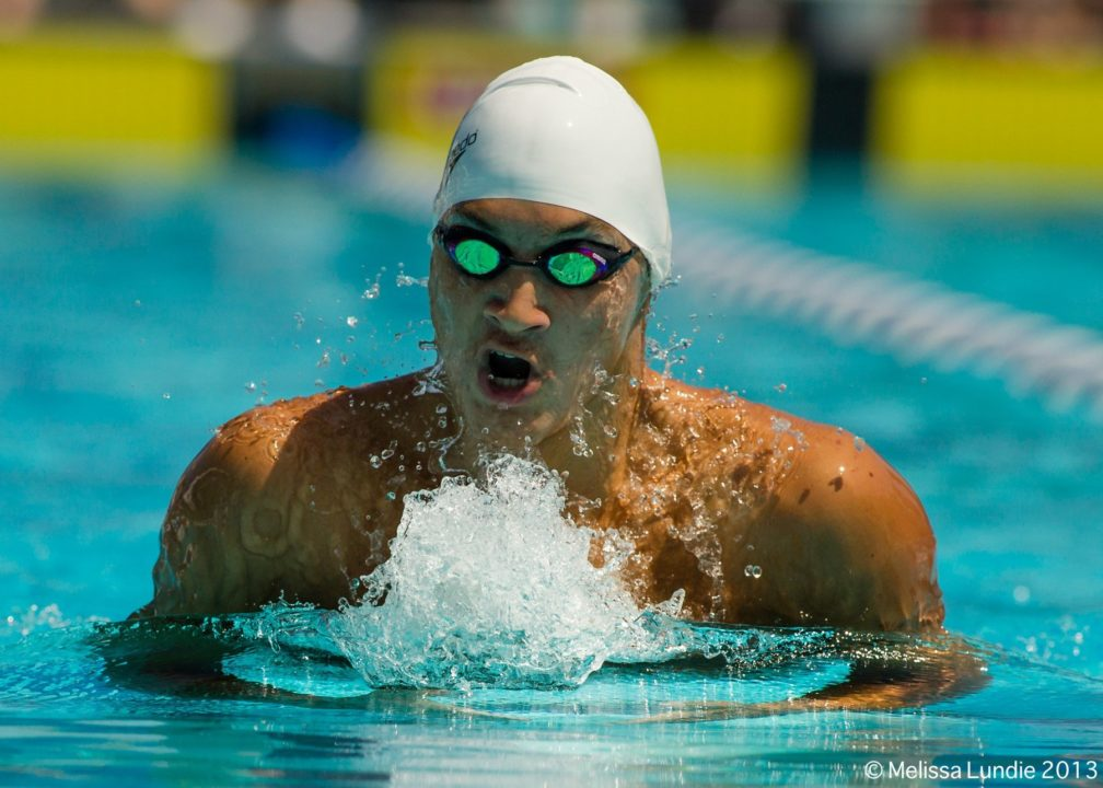 Connor Hoppe takes down national public high school 100 breast record with 53.06