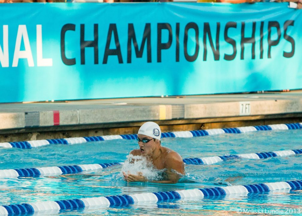 Connor Hoppe Narrowly Misses National HS Record In Prelims At Sac-Joaquin Sections