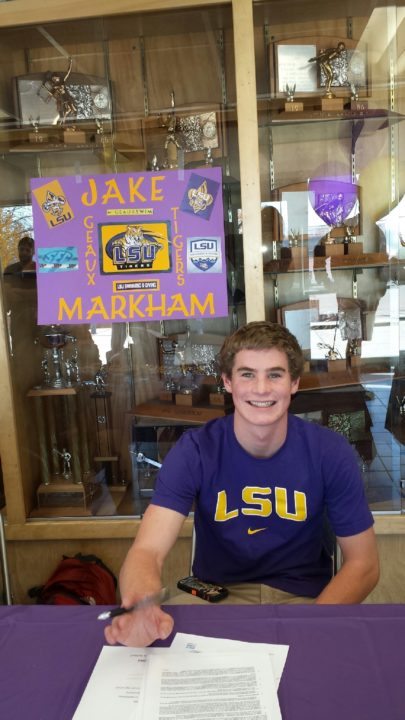 (NLI Photos) Markham signs with LSU, follows older brother to SEC