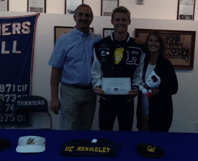 (NLI PHOTOS): Noemie Thomas and Kyle Gornay Sign With Cal