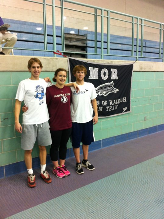Trio of Marlins of Raleigh swimmers make verbal commitments