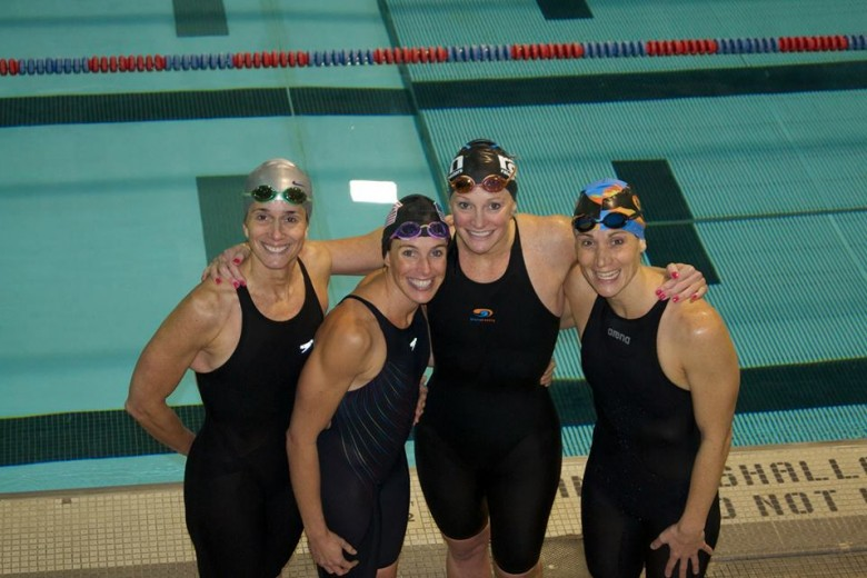 North Carolina swimmers shatter Masters World Record in 200 Free Relay