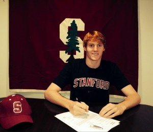 Patrick Conaton hails from New York, and will represent the Cardinal next fall. Photo credit: Pat Conaton.