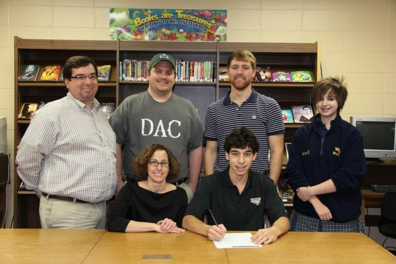 (NLI Photos) Patrick Lane Signs With Towson Tigers