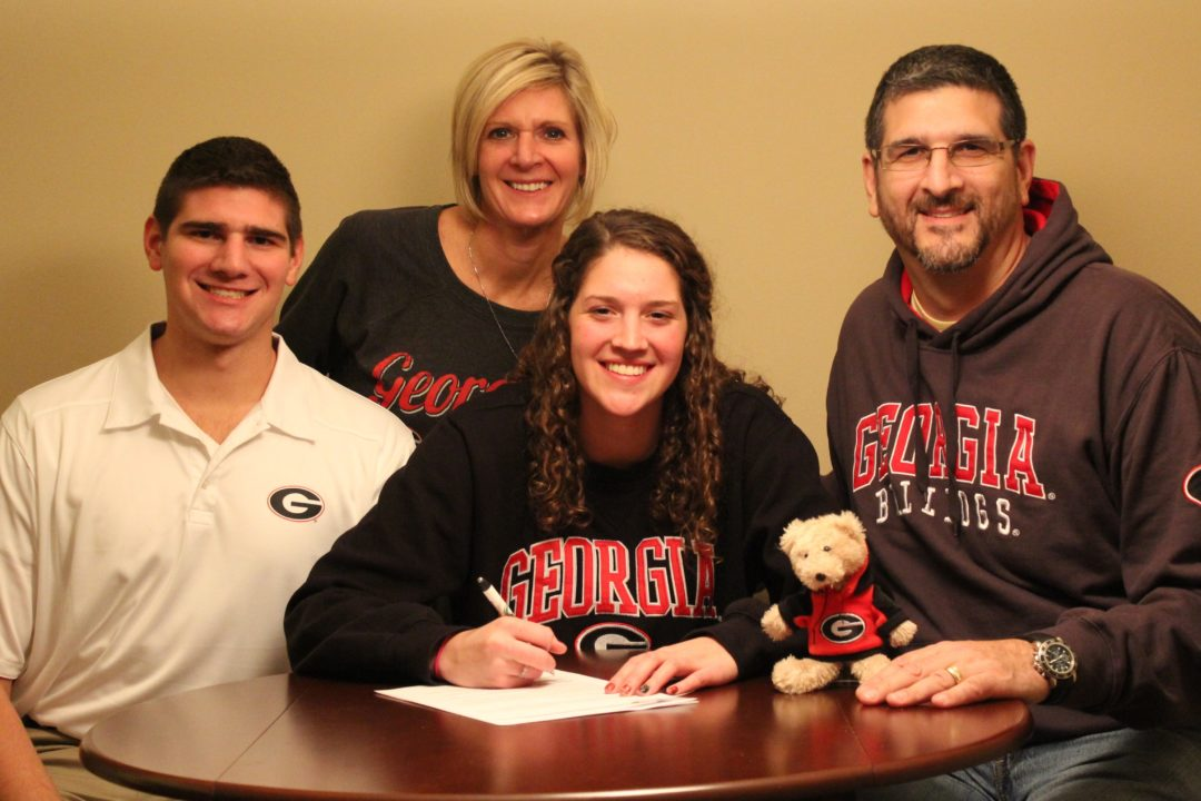 (NLI Photos) Trio of Bulldogs, Including New Name Anna McKenzie, Sign Letters