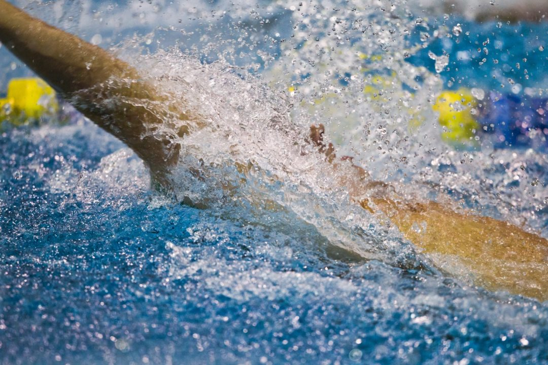 Air Force tops University of Denver Men's Swimming and Diving