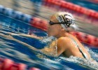 Dana Vollmer won gold with the women's 4 x 100 medley relay in Barcelona  (photo: Mike Lewis, Ola Vista Photography)