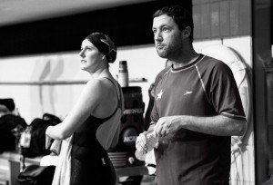 Todd Schmitz and Missy Franklin  (photo: Mike Lewis, Ola Vista Photography)