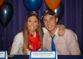 (NLI Photos) Two Bolles Swimmer Sign To UVa