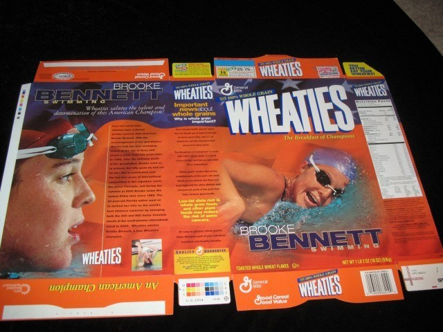 Brooke Bennett, Wheaties Box