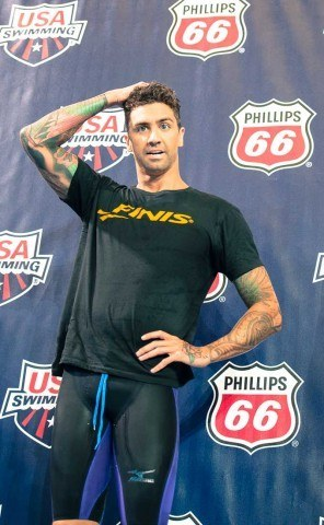 Anthony Ervin kept it going in 2013  (photo: Mike Lewis, Ola Vista Photography)