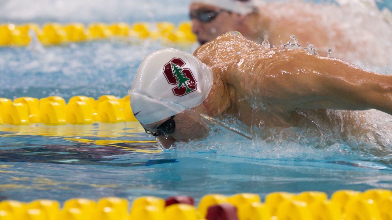 Liang Posts 21.52 50 Fly as Stanford Men Roll to Win Over Pacific
