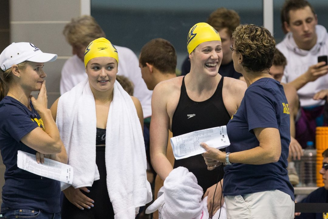 """Teri McKeever to Missy Franklin, """"Go Make Them Remember You"""""""